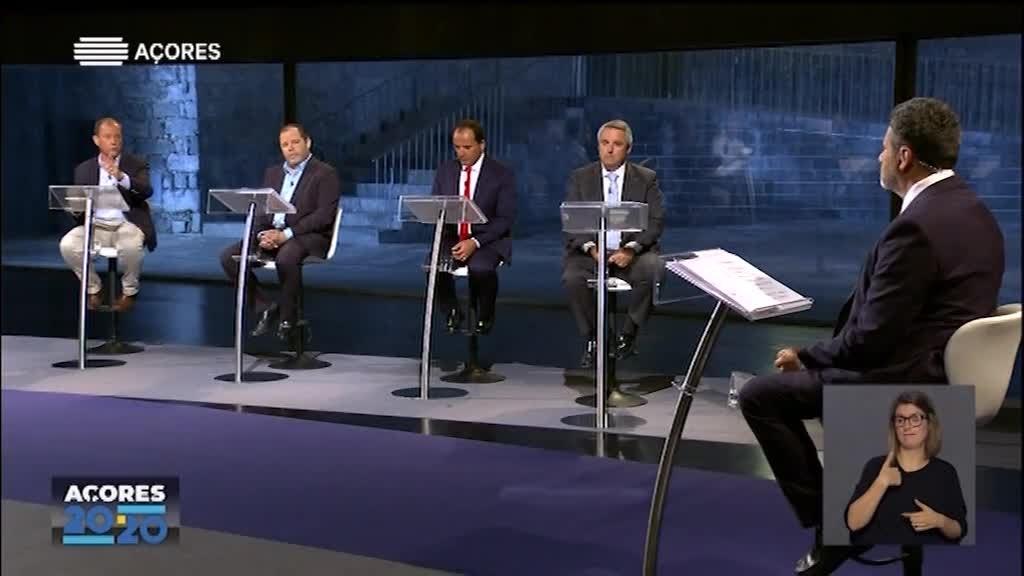 Eleições Regionais 2020 - Debate Ilhas (São Miguel)