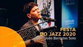 Festa do Jazz 2020 - João Barradas Solo