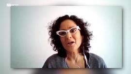 Pilar Quintana autora de «A Cadela»  Alan Hlad autor de «Um Longo Caminho para Casa»