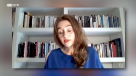 Isabel Nogueira autora de «Zona de Rebentação» Sonia Purnell autora de «Uma Mulher Sem Importância - A história de Virginia Hall, a espia mais procurada pela Gestapo»