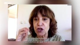 Pedro Eiras autor de «Purgatório»  Rosa Montero autora de «A Boa Sorte»