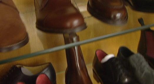 Sarkozy calça sapatos portugueses