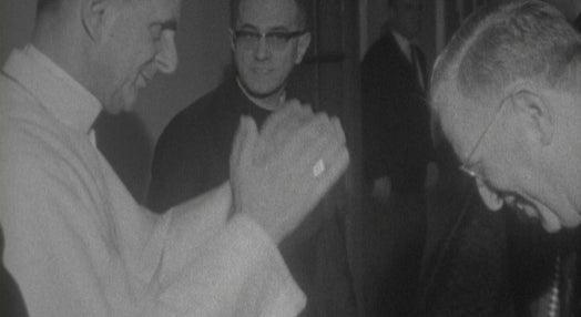 Papa Paulo Vi recebe Oliveira Salazar em Fátima