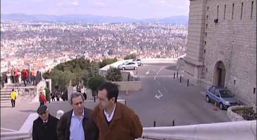 Adeptos do Benfica em Marselha