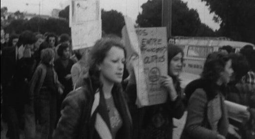 Manifestação do Movimento de Libertação das Mulheres