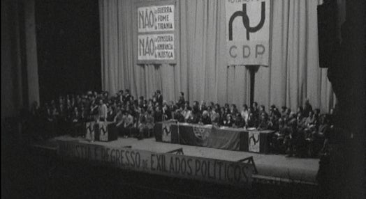 Sessão eleitoral da CDP no Porto
