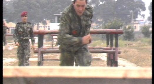 Exercícios militares em Santa Margarida