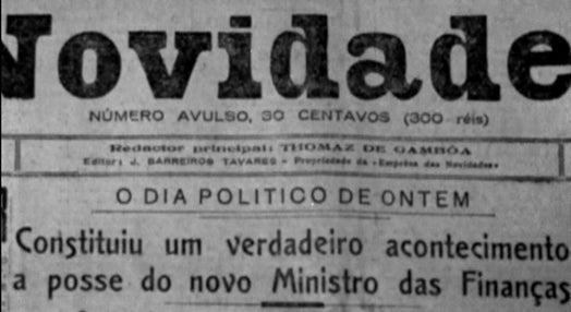 Oliveira Salazar, Ministro das Finanças