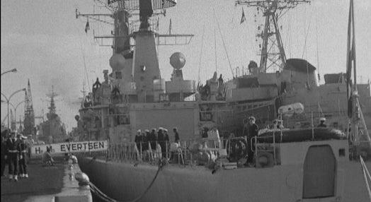 Chegada de navios de guerra estrangeiros ao Tejo