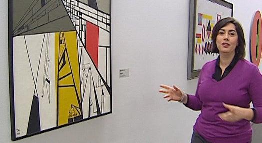 Exposição de pintura no Chiado