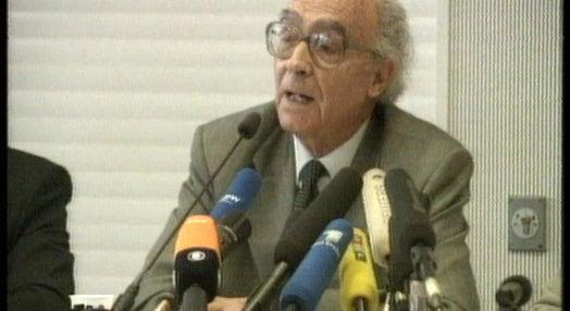 Conferência de imprensa de José Sarmago em Frankfurt