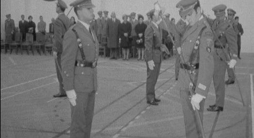 Receção na Academia Militar