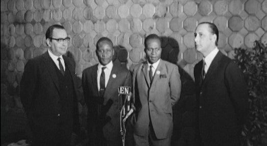 Chegada da delegação do Malawi