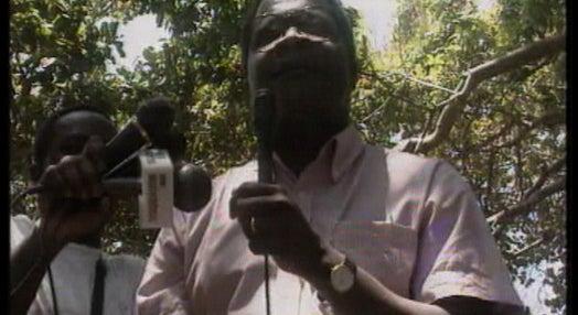 Campanha eleitoral da Renamo em Moçambique