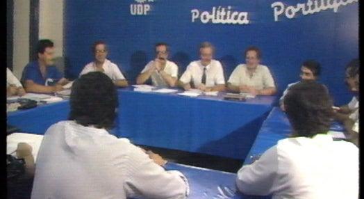 Reunião da Comissão Política da UDP