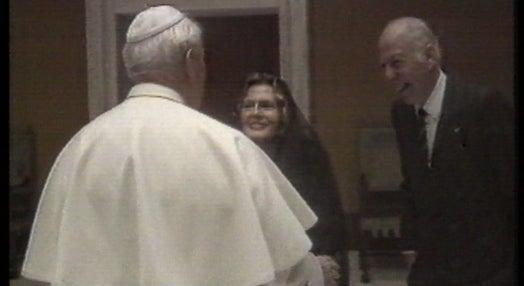 Amália Rodrigues recebida pelo Papa