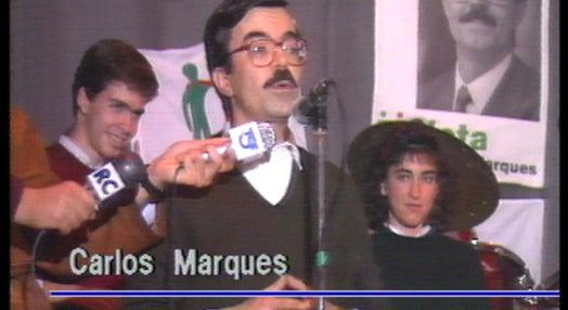 Presidenciais 91: campanha de Carlos Marques