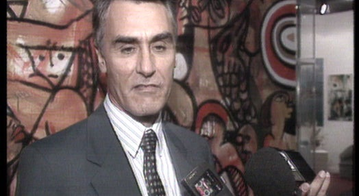 Cavaco Silva na Expo 92