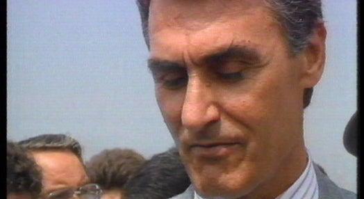 Cavaco Silva visita obras da nova ponte ferroviário do Rio Douro