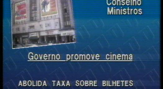 Anúncio das medidas tomadas pelo Conselho de Ministros