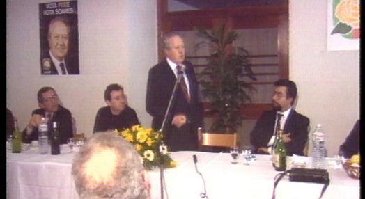 Presidenciais 91: campanha de Mário Soares