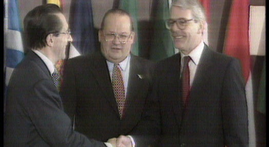 Entrada em vigor do Tratado de Maastricht