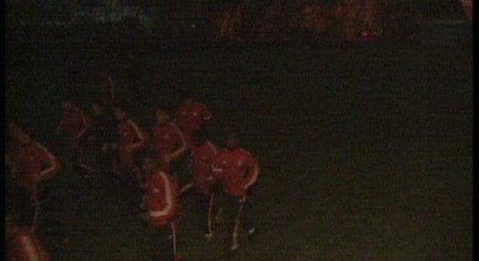 Futebol: treino do Benfica