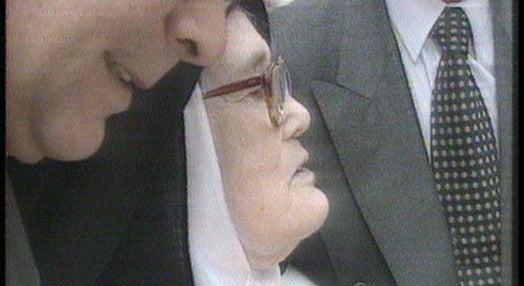 Irmã Lúcia com João Paulo II