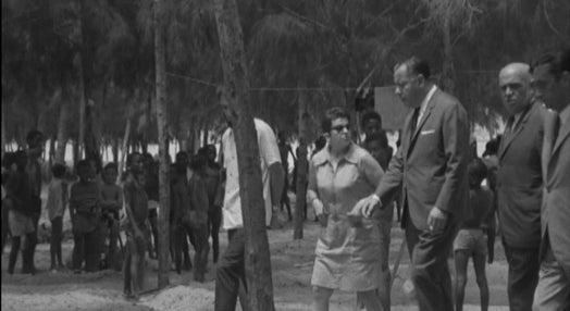 Camilo Rebocho Vaz visita a Colónia Balnear Infantil de Luanda