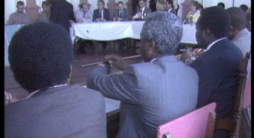 Conversações de paz para Angola