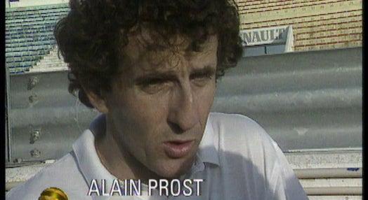 Automobilismo: testes de Alain Prost no Estoril