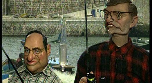 Toni e Escuteiro na Pesca
