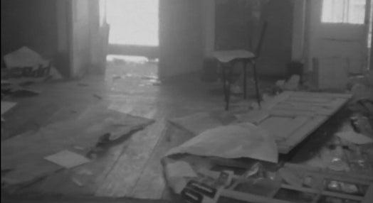 Destruição da sede do PPD em Beja