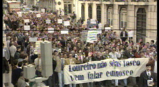 Manifestação da PSP