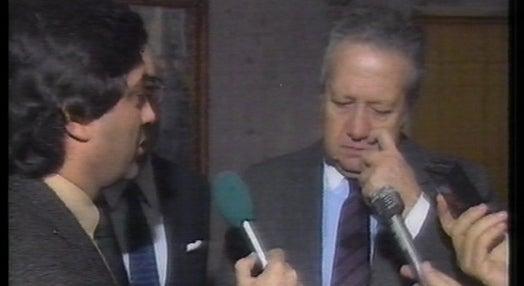 Encontro de Mário Soares com  Mikhail Gorbachev