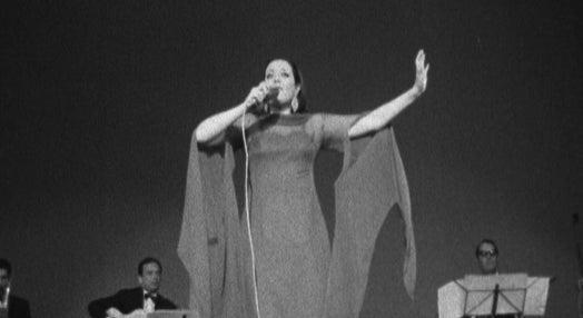 Simone de Oliveira no Cinema Império