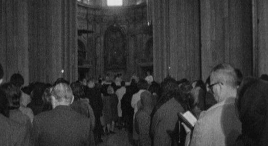 Dom Manuel Gonçalves Cerejeira celebra missa