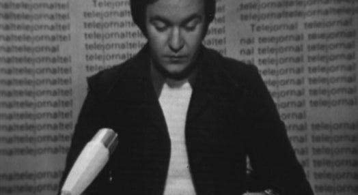 Aviso do Estado Maior no Telejornal do dia 25 de Novembro de 1975