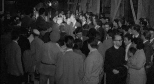 Regresso dos peregrinos de Lourdes