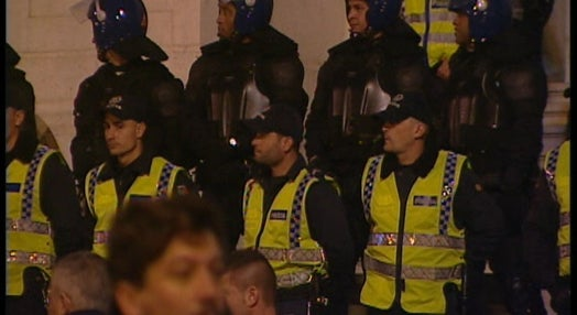 Protesto das Forças Políciais