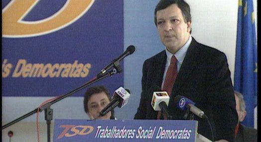 Durão Barroso critica Governo