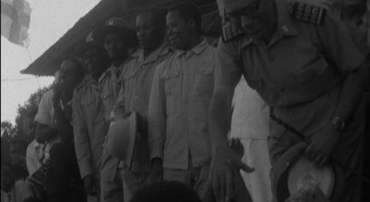 Visita de Baltazar Rebelo de Sousa a Moçambique