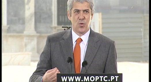 PM anuncia rede de telecomunicações
