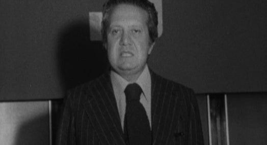 Conferência de imprensa de Mário Soares