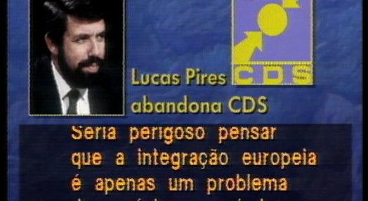 Lucas Pires abandona o CDS