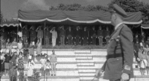 Juramento de Bandeira na Academia Militar