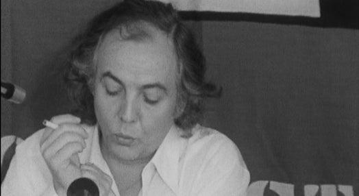 Conferência de imprensa de Manuel Serra